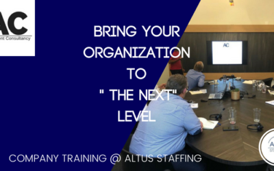 Alignment @ Altus Staffing a leading edge organization