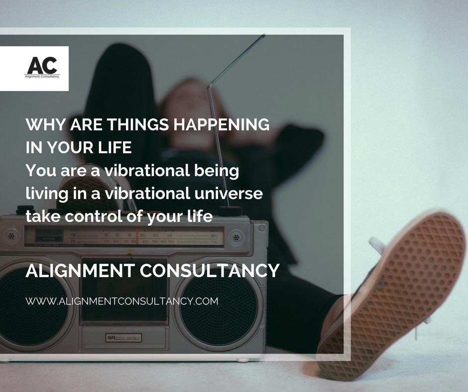 Vibrational Universe